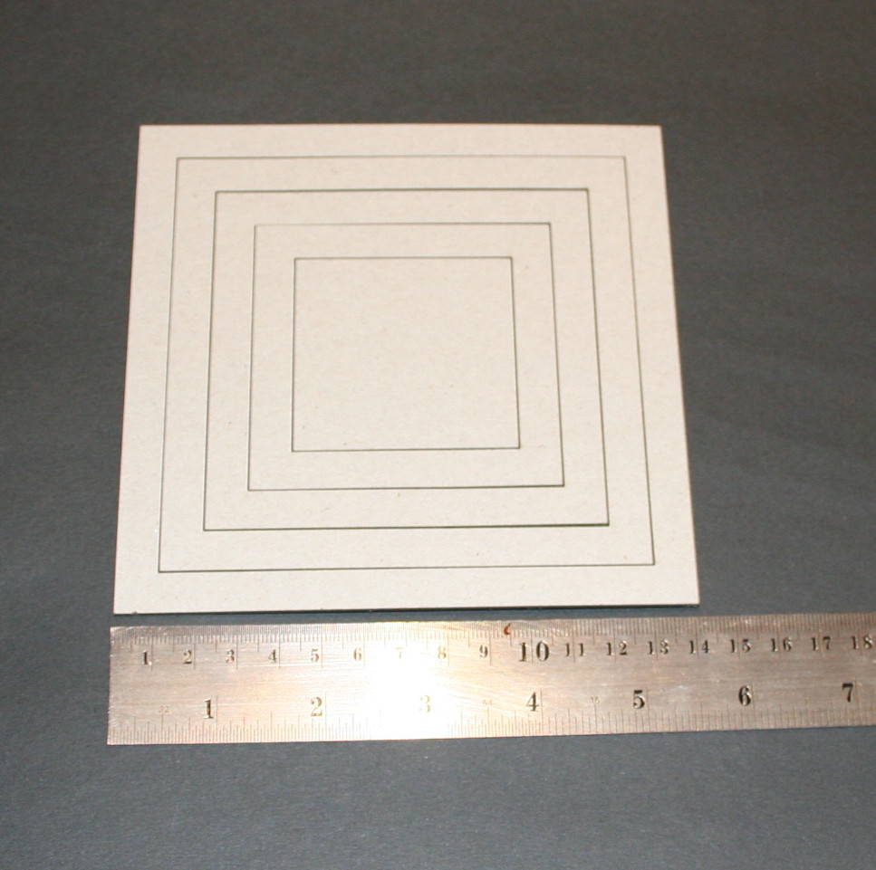 Frame Square Borders (unit of 3)