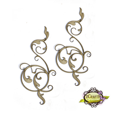 Elegant Flourishes (unit of 3)