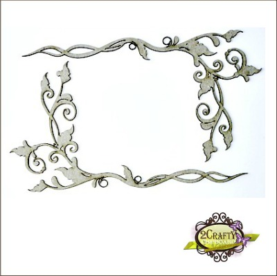 Corner Twisted Vines (unit of 3)